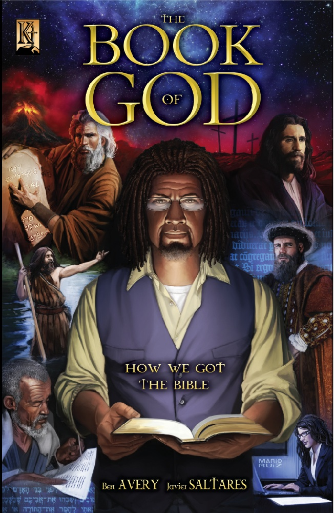 Cover of the Book of God Comic