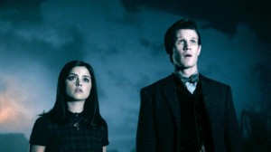 Clara and the Doctor at Trenzalore