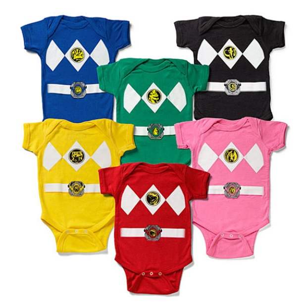 Power Rangers Onsies Technabob