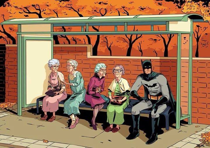 Batman Nanas Think Geek
