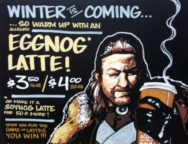 Winter Is Coming Coffee