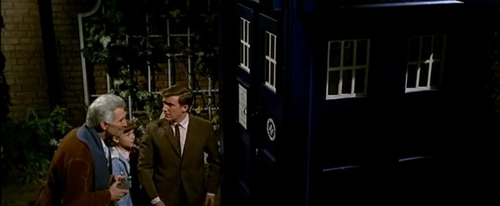 Dr Who and TARDIS