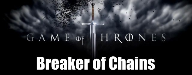 Ben De Bono along with Ben and Emily Kirkwold review the latest Game of Thrones episode: Breaker of Chains