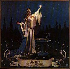 Galadriel from the Hildebrandt Brothers' 1978 Tolkien Calendar