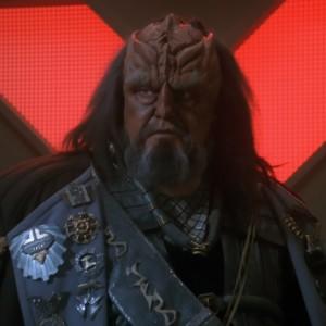Klingon Chancellor K'mpec