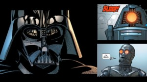 Marvel Darth Vader Bad Droids