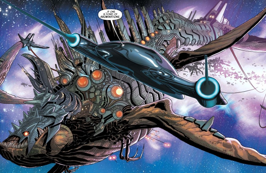 Cyborg Neebray in Marvel Darth Vader #5