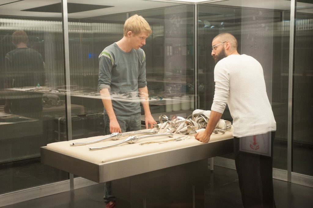 Ex Machina Caleb Nathan and Robot