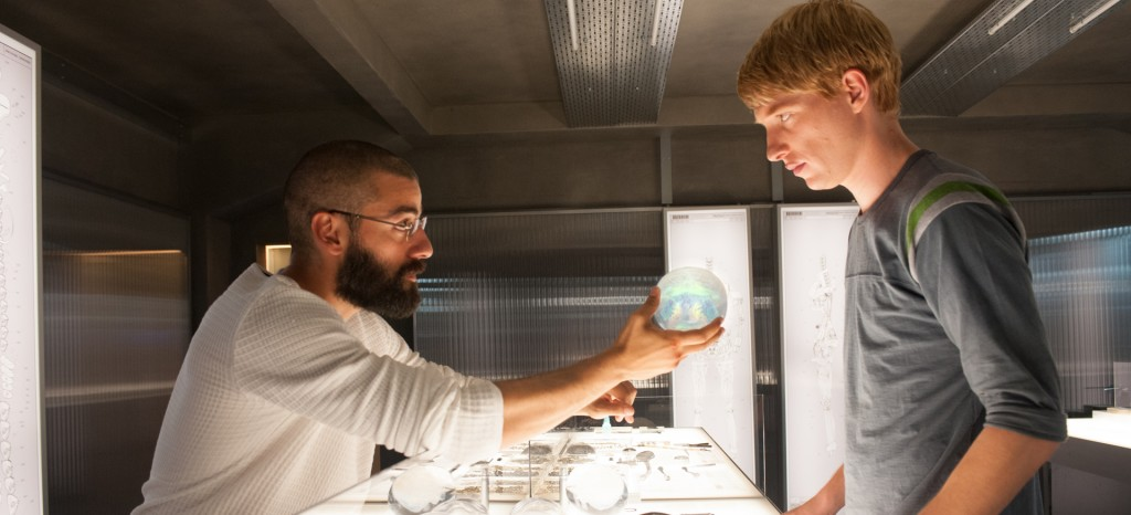 Ex Machina Nathan and Caleb