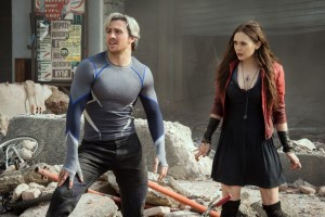 Quicksilver and Scarlet Witch in Age of Ultron