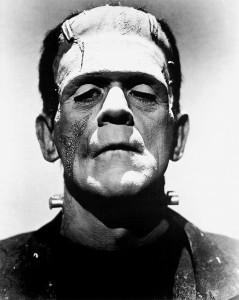 Karloff as Frankenstein Monster