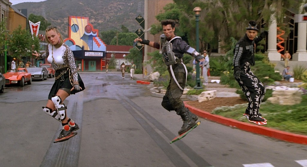 "Hoverboard chase from ""Back to the Future, Part II"""