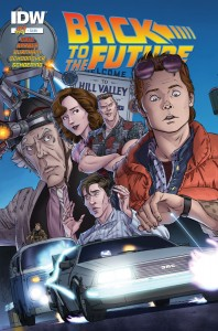 IDW Back to the Future #1 cover