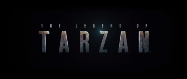 The Legend of Tarzan title logo