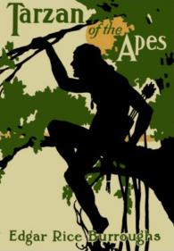 Tarzan of the Apes dust jacket